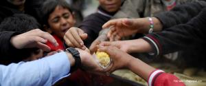 Sirios mueren de hambre