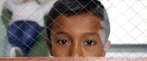 Chicos piden refugio en Mexico
