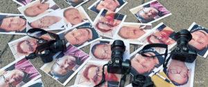 Periodistas asesinados. Foto: AFP.