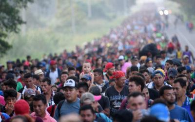 Urge ACNUR no politizar caravana de migrantes